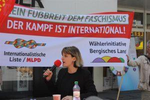 Internationalismus live Veranstaltung mit Gabi Gärtner @ Kurt-Tucholsky-Schule