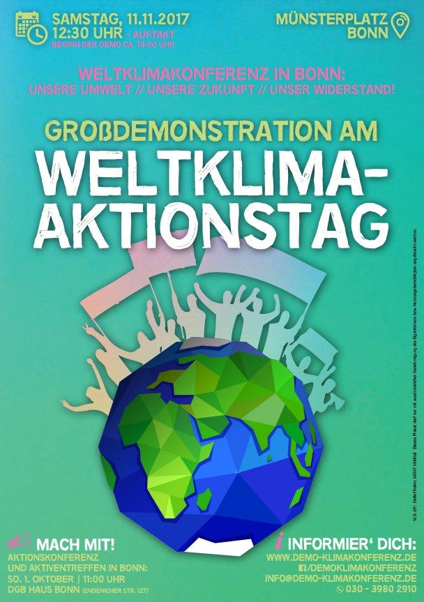 Weltklima-Aktionstag